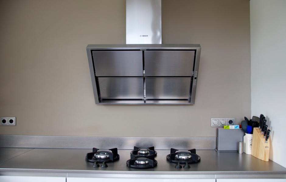 Keukenwerkbladen van de breevaart keuken sanitair bergen op