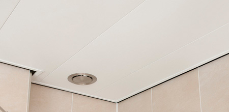 Badkamer plafond kunststof