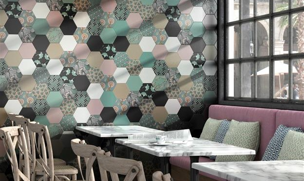 hexagon_vloertegels_patchwork