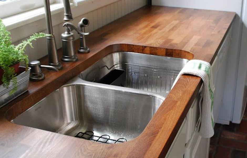 Houten Werkblad Keuken : Keukenwerkbladen van de breevaart keuken & sanitair bergen op